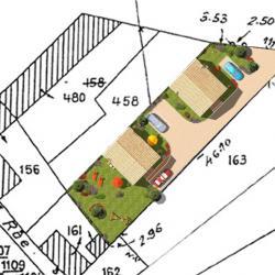 Prix ravalement facade crepie ravalement de fa ade - Plan de masse cote dans les 3 dimensions ...